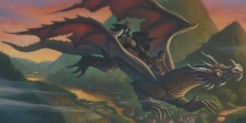 اژدها سواری هری، رون و هرماینی