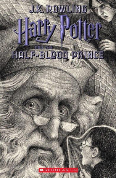 جلد جدید کتاب هری پاتر و شاهزاده دورگه