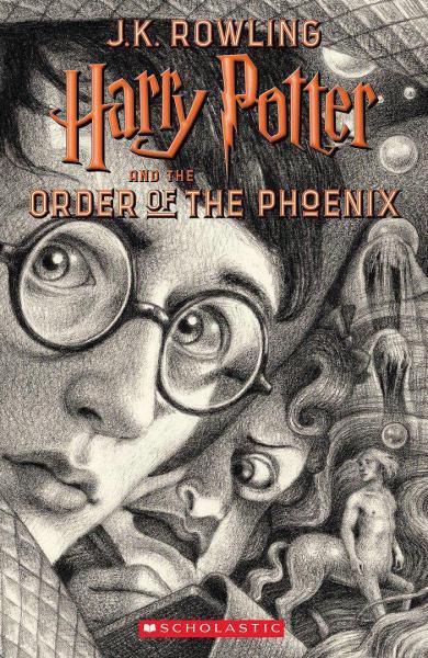 جلد جدید کتاب هری پاتر و محفل ققنوس