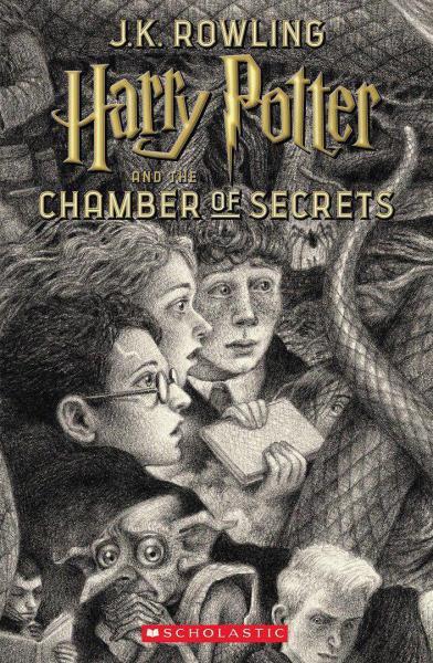 جلد جدید کتاب هری پاتر و تالار اسرار