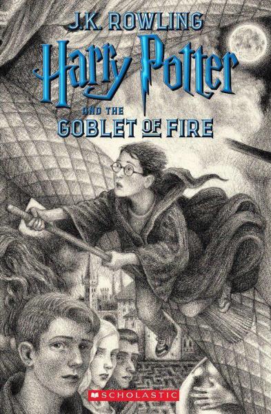 جلد جدید کتاب هری پاتر و جام آتش