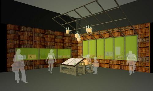"""فضای """"هری پاتری"""" نمایشگاه کتابخانهی بریتانیا"""