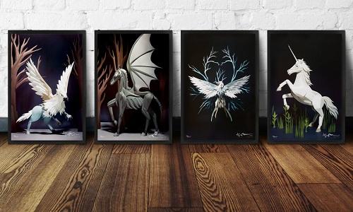 طراحیهایی از موجودات جادویی