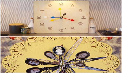 ساعت هوشمند Eta Clock، نسخه واقعی ساعت خانواده ویزلی!